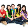 Group of Teenager Friends — Stock Photo