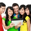 Group of Teenage Friends  — Stockfoto