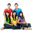 Group of Teenager Friends — Foto de Stock