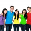 Group of teenagers — Stock Photo #14102437