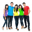 Group of five teenager — Stock Photo #14102456