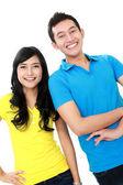 Paar teenager — Stockfoto