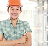 Worker portrait — Stock Photo