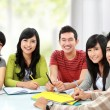 Group of young student — Stock Photo