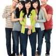 Stock Photo: Group of asifriend