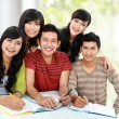 Friendly group of students — Stock Photo #14498967