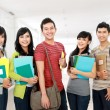 Group of students — Stock Photo #14498995