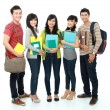 Group of students — Stock Photo #14498997