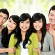 Group of smiling friends — Stock Photo #14499039