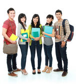Group of students — Foto Stock