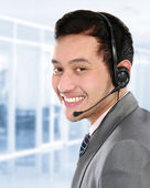 Business man calling — Stock Photo