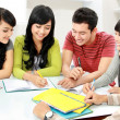 Group of students — Stock Photo #14684283