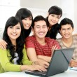 Group of young student — Stock Photo #14684339