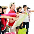 Happy young tourists — Stock Photo #16301629