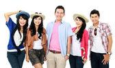 Grupo de joven turista — Foto de Stock