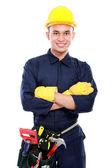 Trabalhador industrial — Foto Stock