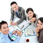 Portrait of group executives — Stock Photo