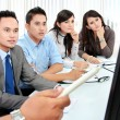 Business team during presentation — Stock Photo #17999163