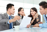 Business discussion in the office — Stock Photo