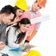 Contractor with business — Stock Photo #19174559