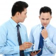 Stock Photo: Businessmen discussing business topic