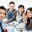 Portrait of business group — Stock Photo #19174797