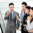Stockfoto: Business discussion in the office