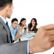 Business discussion in the office — Stock Photo #19848627