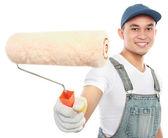 Painter working — Stock Photo
