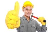 Handsome worker — Стоковое фото