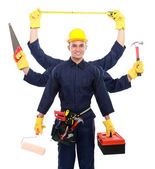 Industrial worker ready to work — Stock Photo