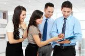 Gruppo di incontro d'affari — Foto Stock