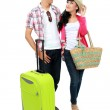 Couple tourist on vacation — Stock Photo #21128033