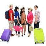 若い観光客のグループ — ストック写真 #21128209