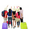 Group of tourist  — Foto Stock