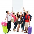 Group of young tourist  — Foto de Stock