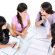 Group of student studying — Stock Photo