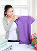 Laundry at home — Stock Photo