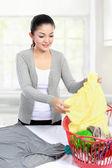 Laundry at home — Stock Photo