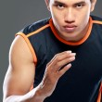 Sportive man running — Stock Photo #26753949