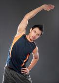 Junge fitness mann — Stockfoto