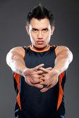 男性フィットネス スポーツ モデル — ストック写真
