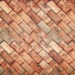 Stock Photo: Brown brick wall texture