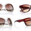 Collection of sun glasses — Stock Photo #34797043