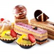 Collection of various cakes — Stock Photo