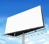 Billboard with empty screen — Foto de Stock