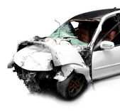 Car in an accident  — Stock Photo