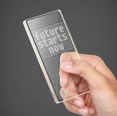 Future starts now concept — Stock Photo