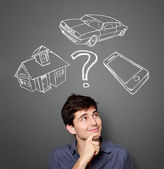 Mortgage and credit concept — Stock Photo