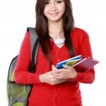 Pretty female student portrait — Stock Photo #47213283